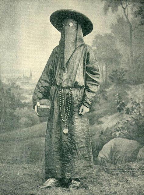 Italian Monk Wearing a Funeral Mask, 1892