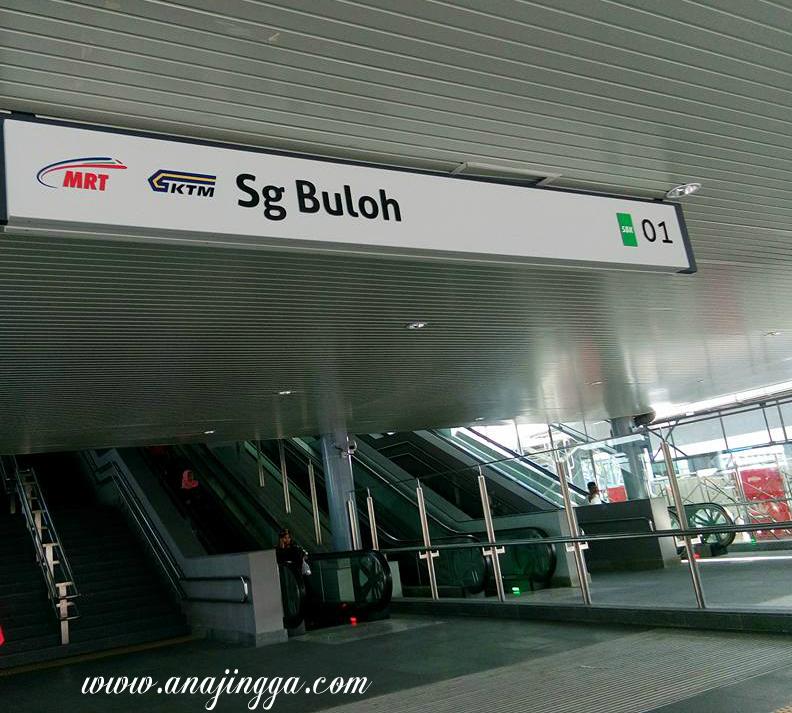 MRT Sungai Buloh Ke Semantan