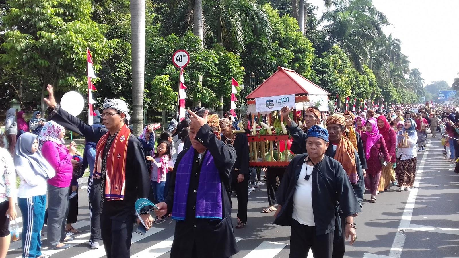 Kelurahan Babakan Pasar: Helaran HJB 353