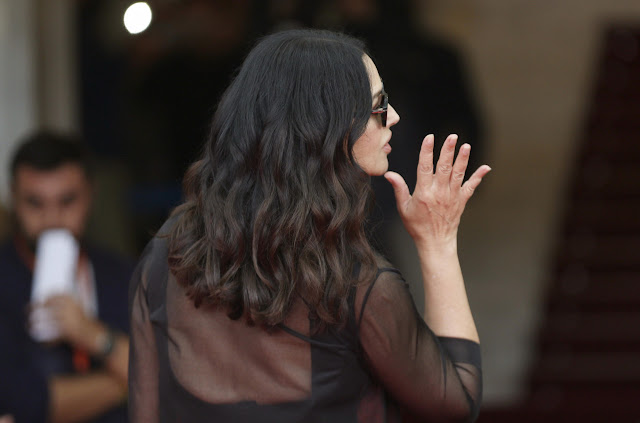 Full HQ Photos of Italian actress Monica Bellucci at 64th San Sebastian International Film Festival