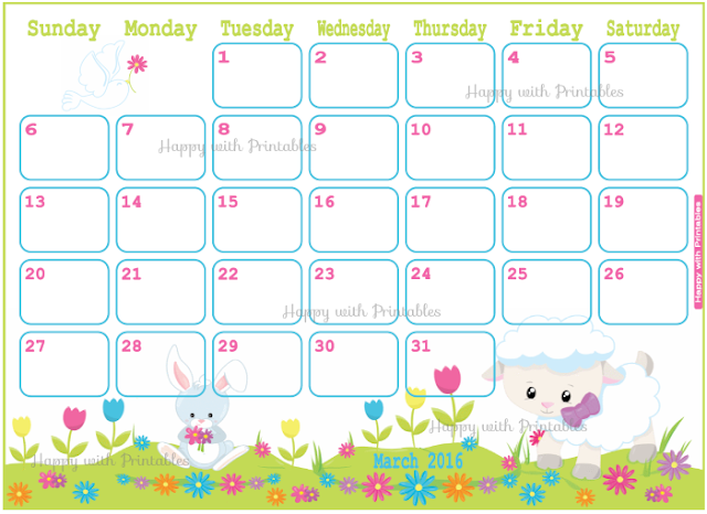 easter planner, march 2016, april 2016, may 2016, 2016 planner, planner for kids, diy easter
