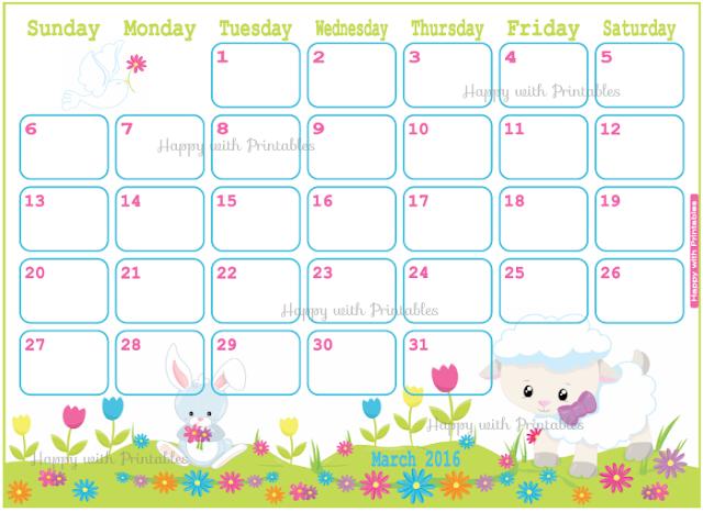 easter planner, march 2016, april 2016, may 2016, 2016 planner, planner for kids, diy easter