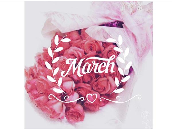 Março do ser, conquistar e querer