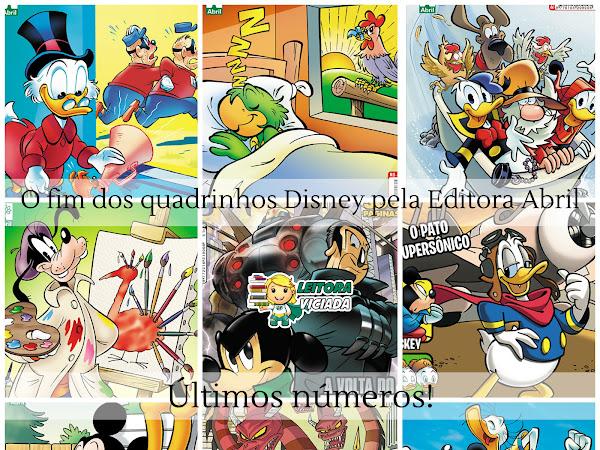 O fim dos quadrinhos Disney pelo Grupo Abril