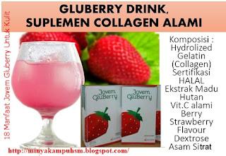 4joven gluberry untuk kecantikan dan kesehatan tubuh