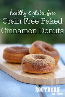 Paleo Cinnamon Sugar Baked Donuts Recipe