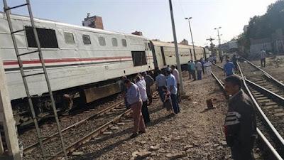 عاجل.. قطار يدهس مدرس أثناء عبوره مزلقان بالقليوبية