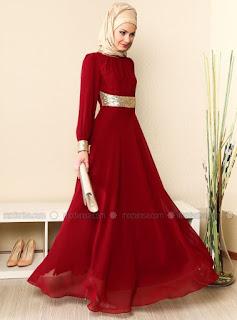 Model Baju Muslim Pesta