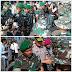 Warsito Lepas 350 Bataliyon Reider 712 Wirabuana Yang Ditugaskan Menjaga Pamtas Di NTT