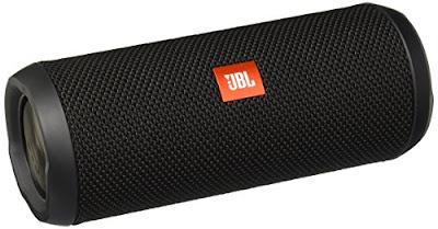 JBL Splashproof Bluetooth Speaker - Portable Rechargeable Wireless Audio System