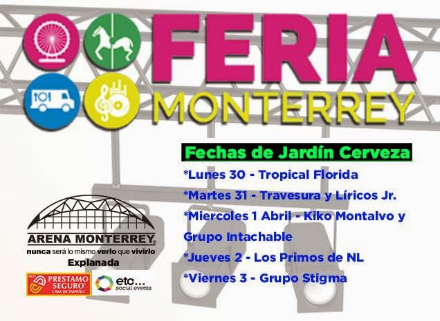 artistas feria monterrey 2015