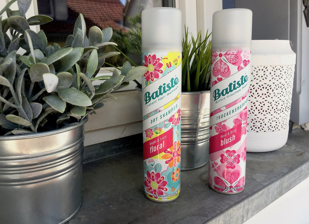 Batiste Trockenshampoo Duftvariante Floral Blush Test Erfahrungsbericht