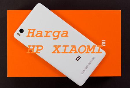 Daftar Harga HP Xiaomi Android Terbaru Maret 2018