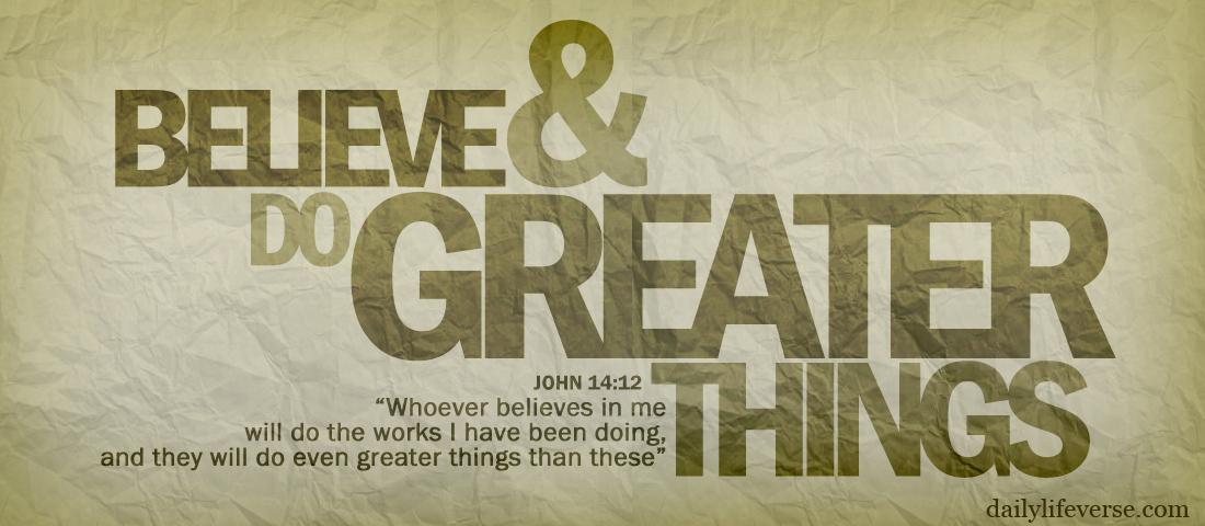 Hasil gambar untuk john 14:12