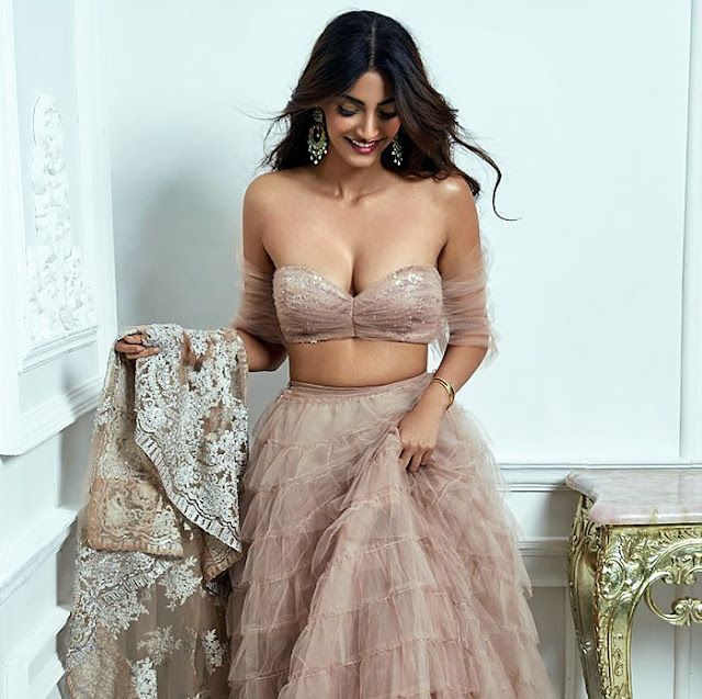 Sonam Kapoor Photoshoot For Shehla Khan Collection