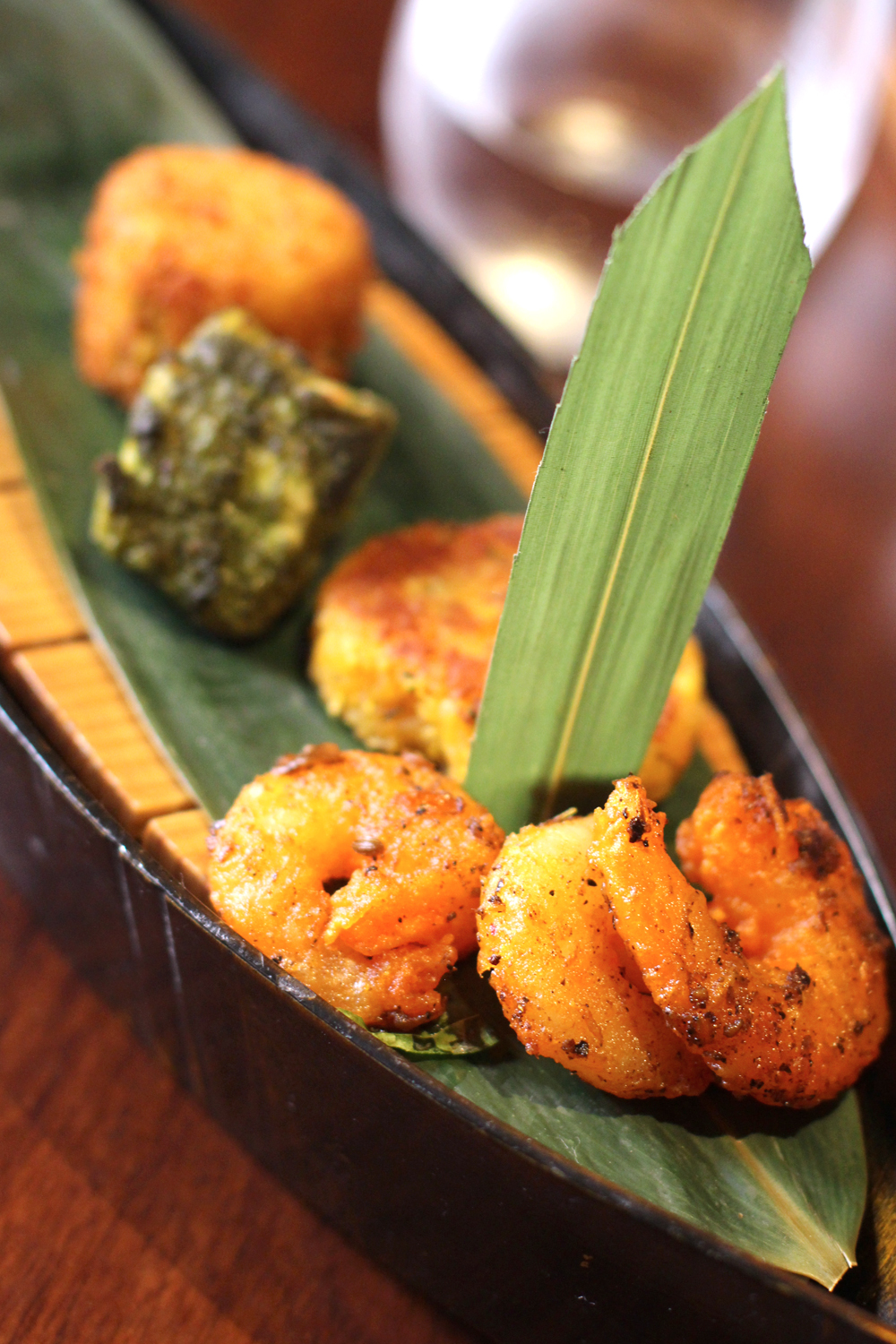 Starters at Quilon, Michelin-starred Indian restaurant in Victoria, London - UK lifestyle blog