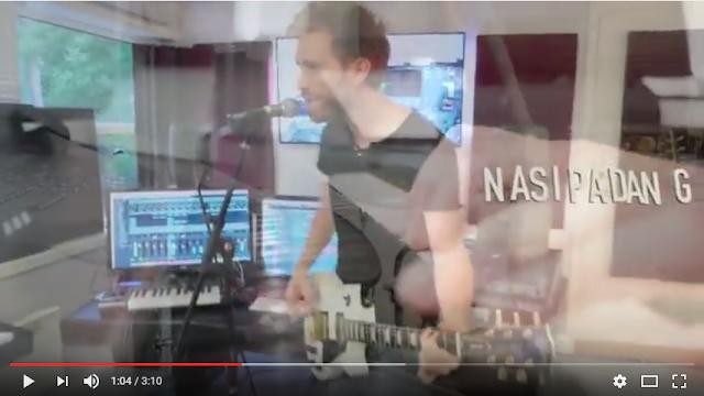 Kreatif, Bule Norwegia ini Ciptakan Lagu Berjudul
