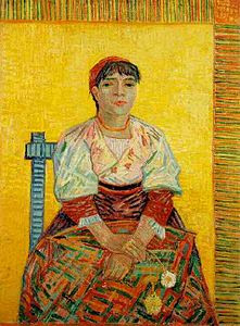 Agostina Segatori, Van Gogh