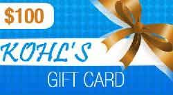 Kohls gift card balance Giveaway