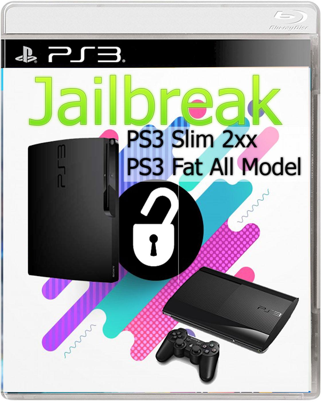 Tutorial Jailbreak PS3 PS3 Slim 2xx and PS3 Fat all models