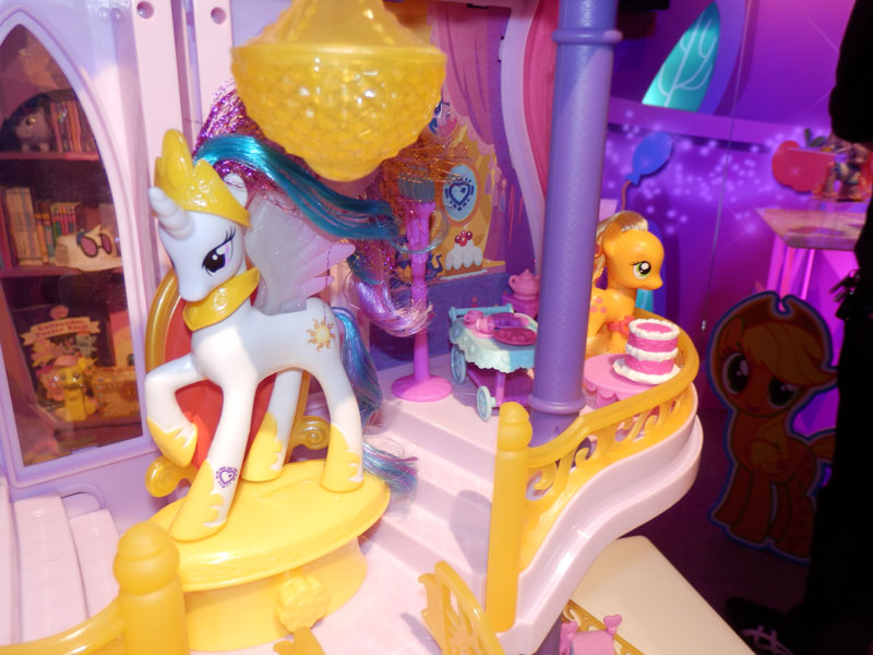 Canterlot Castle Playset at NY Toy Fair 2015