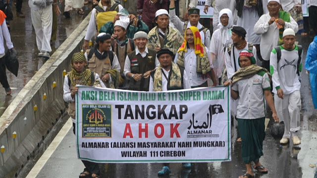 Dituding Mainkan Isu SARA di Jakarta, Garda 212: Jokowi Ngotot Pertahankan Penista Agama