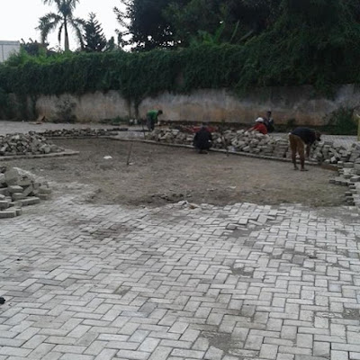 Jasa Pemasangan Paving Block Murah, Jakarta, Bogor depok, tangerang, bekasi, Rizki Jaya Aspal