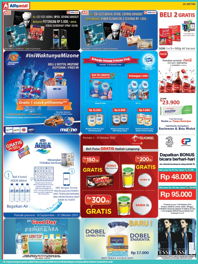 Katalog Harga dan Katalog Promo Alfamidi