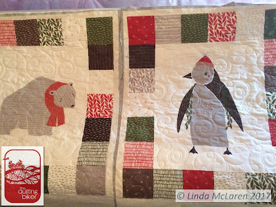 Mounting 2 wall hangings as 1 item QuiltingBiker longarm quilting