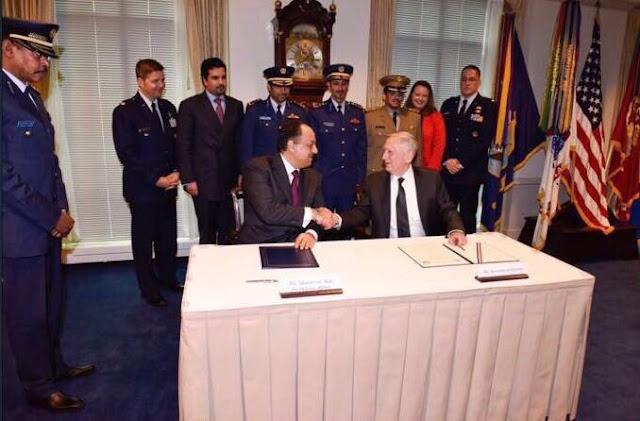 وزير-دفاع-قطر-وأمريكا
