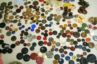 Vintage buttons (some are over 70 years old!) :: All Pretty Things