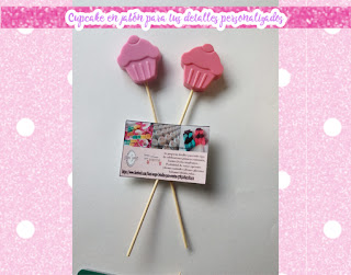 brocheta cupcake jabon