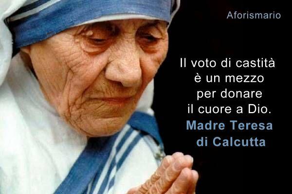 Aforismario Madre Teresa Di Calcutta Le Frasi Più Belle E Toccanti