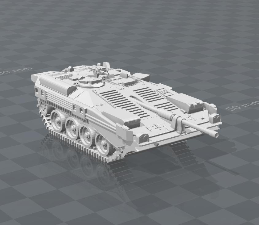 S-Tank MBT
