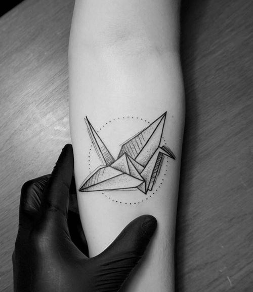 Origami Tattoos Images Handicraft Items From Waste Material