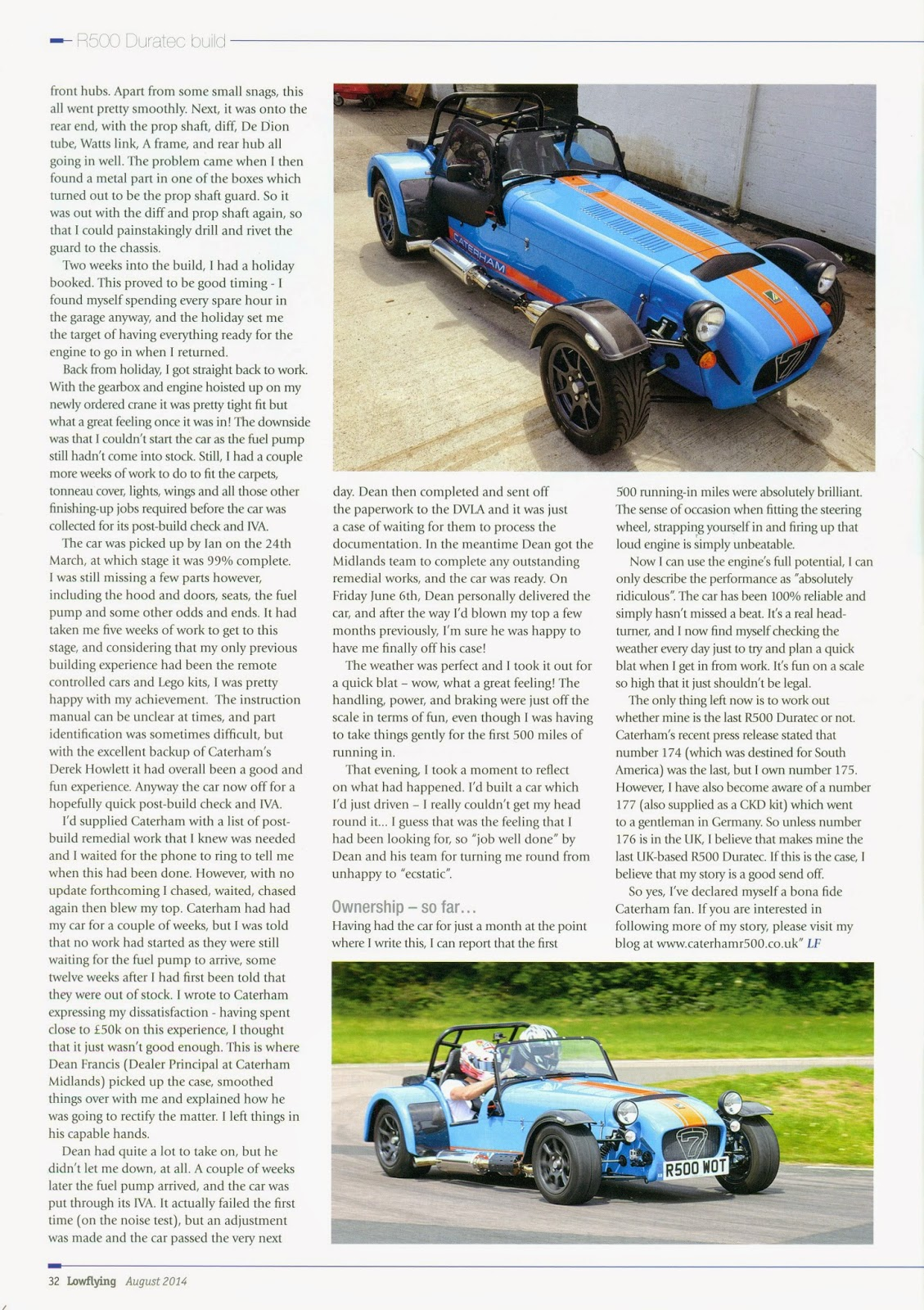 Page 32 of Lowflying Magazine - August 2014 Issue