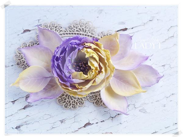 Silk Foam Lavender & Mustard Flower