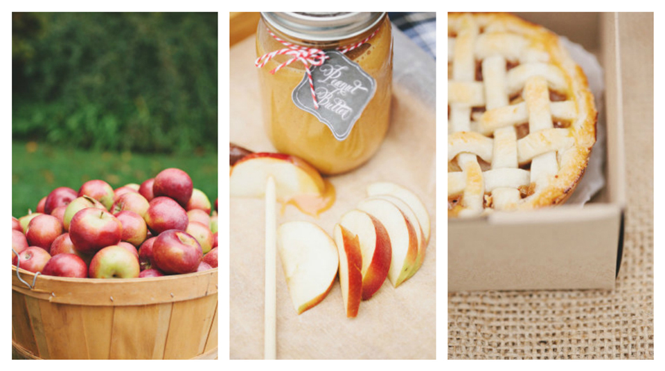 Mariage: pomme picnic party
