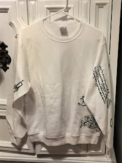 Lady Gaga Tattoos Sweatshirt front