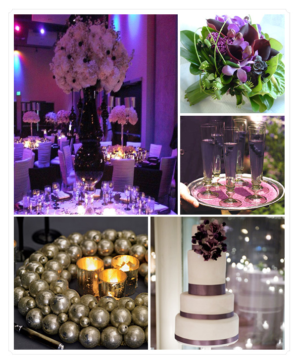 Purple And Black Wedding Ideas: Choose Your Wedding Colors: Purple Tones : Have Your Dream