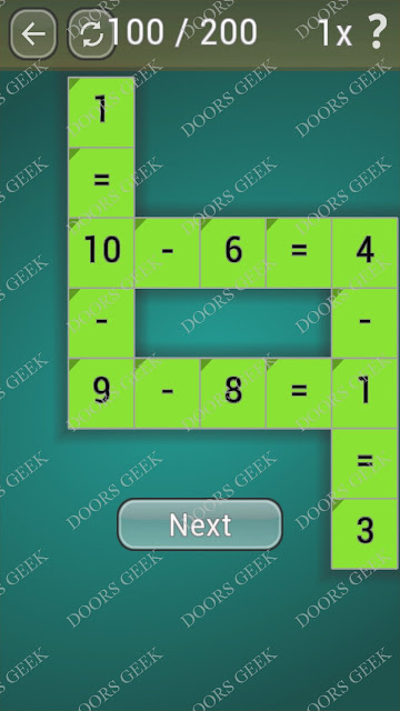 Math Games [Beginner] Level 100 answers, cheats, solution, walkthrough for android