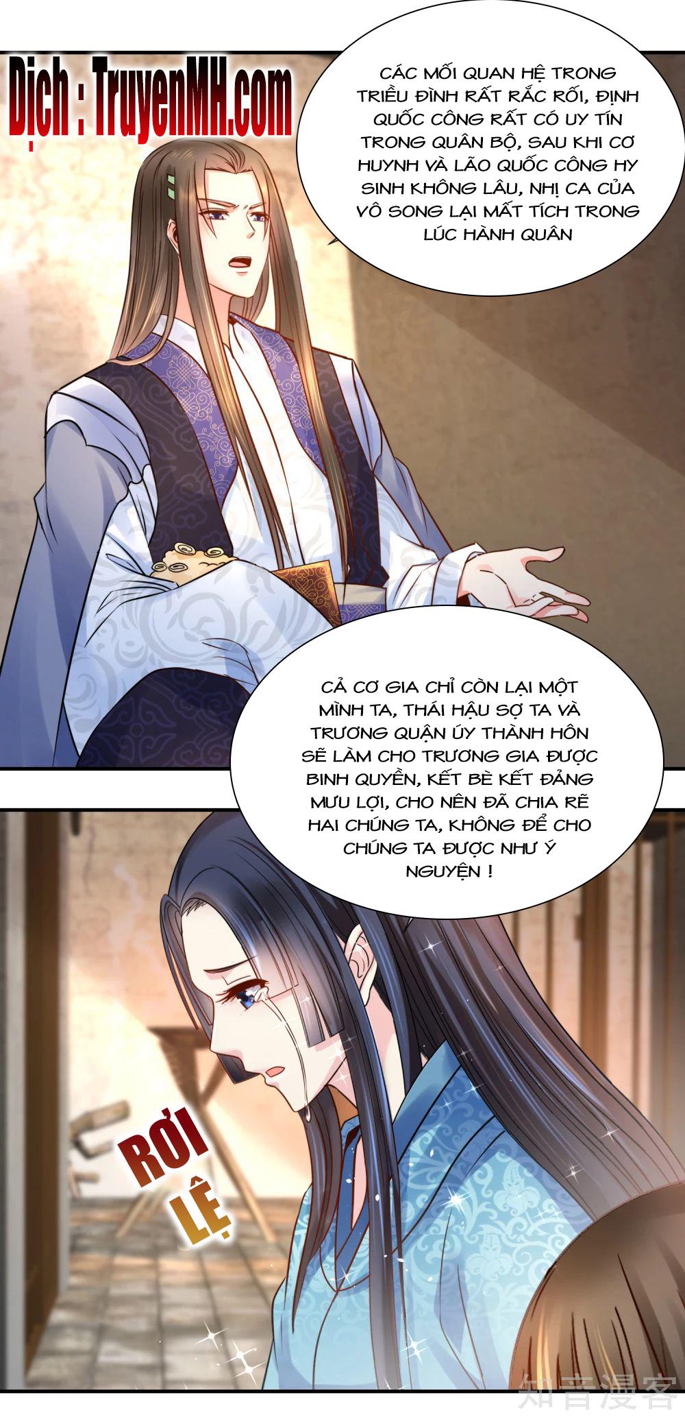 Lãnh Cung Phế Hậu Muốn Nghịch Thiên - Chap 54