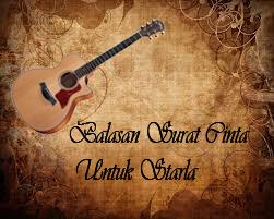Download Lagu Balasan Surat Cinta Untuk Starla Mp3 Gratis