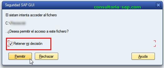 Retener mi decisión en SAP - Consultoria-SAP