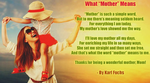 Mothers day poems that make you cry