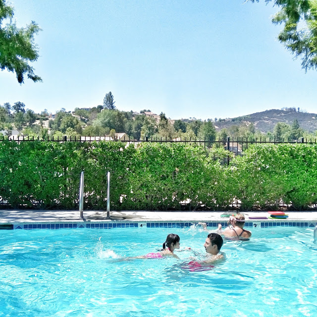 swim lessons at calabasas swim and tennis center