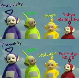 teletubbies meme pictures to pin on pinterest pinsdaddy