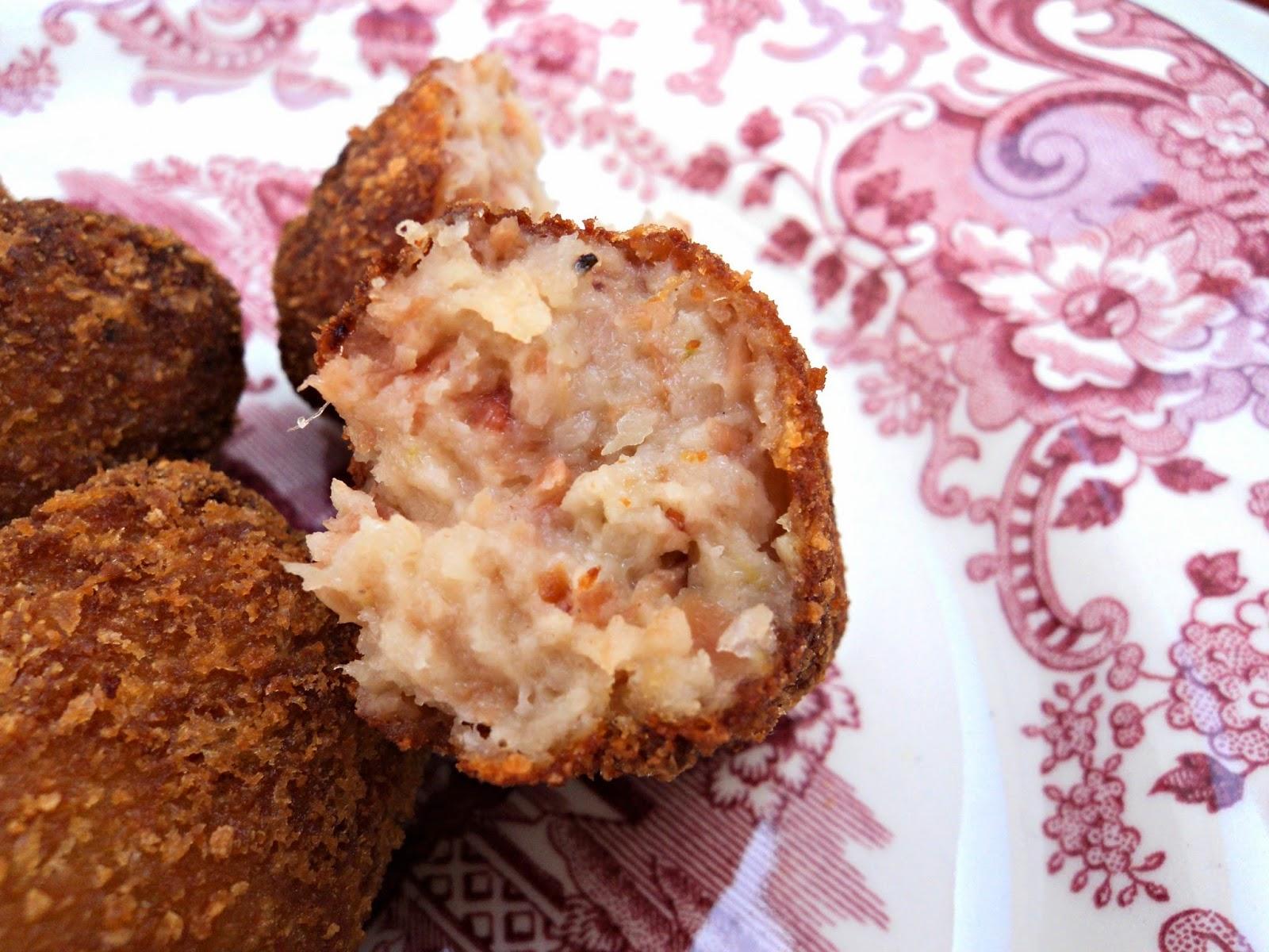 receta casera de croquetas jamón