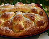 Pan de Muerto (Bread for Day of the Dead)