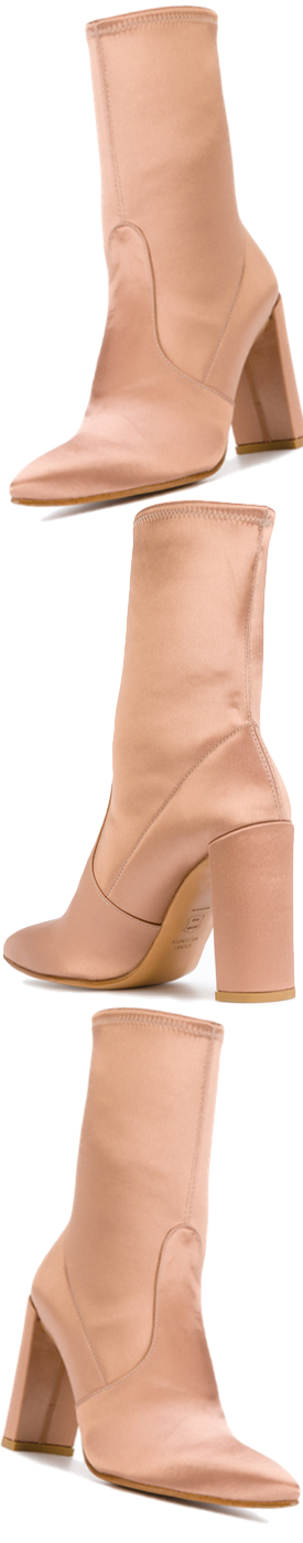 STUART WEITZMAN Stretch Ankle Boots